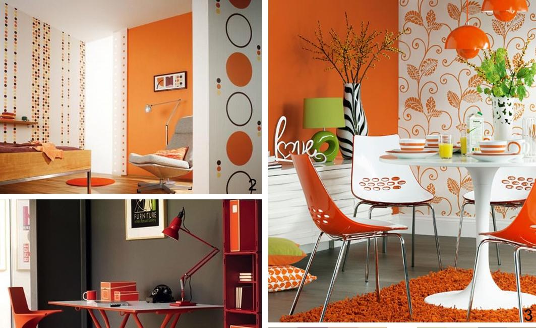 Bagno Colore Arancione