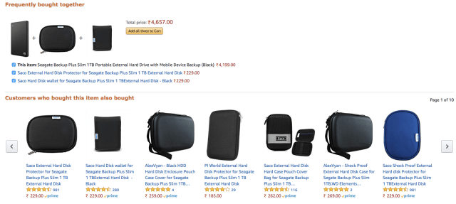 recommendations by amazon