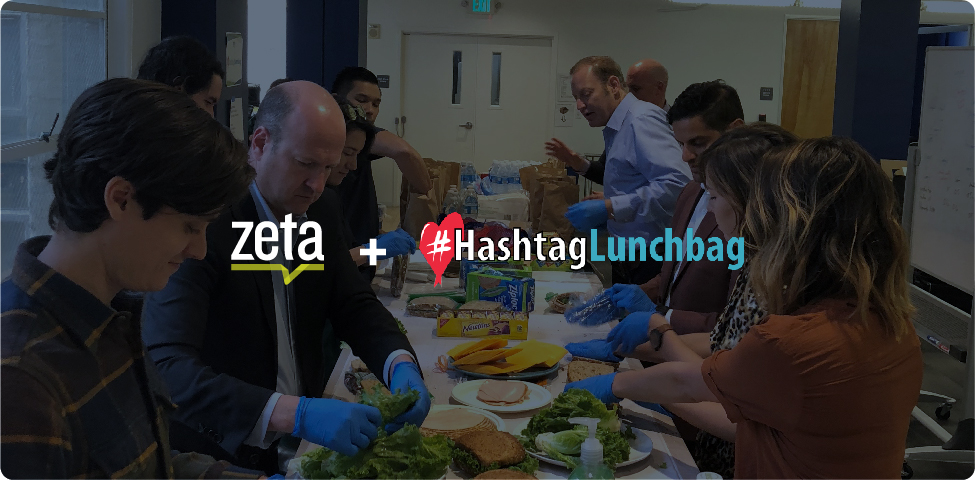 ZetaCares Partners with #HashtagLunchbag to Give Back