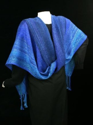Deep Water Blues Shawl