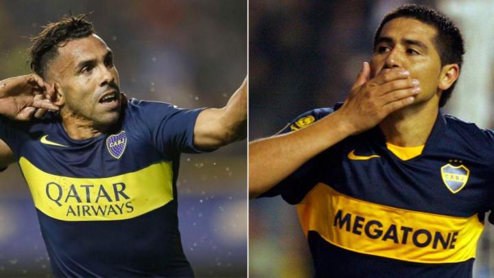 Especulaciones en el mundo xeneizeJuan Román Riquelme y Carlos Tévez, ¿podrían competir por la presidencia de Boca?