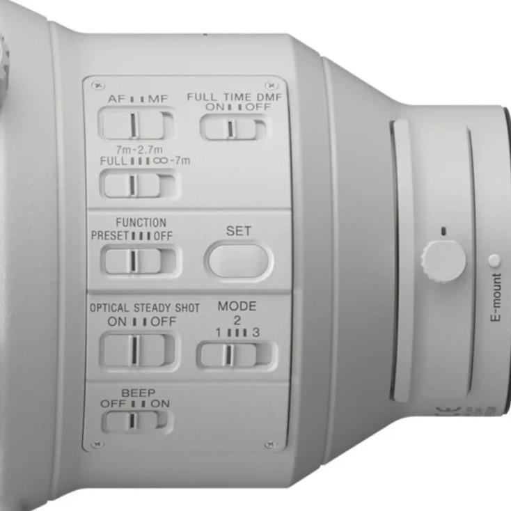 多達8組的鏡頭控制鈕