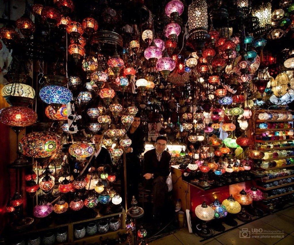 Tienda en Gran Bazar de Istanbul (Turquía)