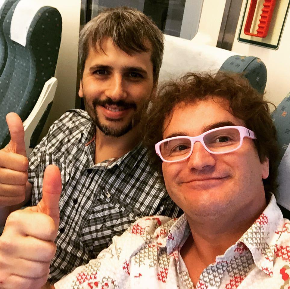 Carles Caño y Marc Alier