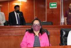 Diputada Gloria Miramontes