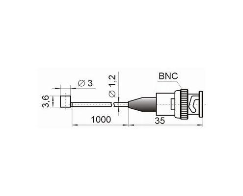AP2019 Compact accelerometer (shock sensor), connection