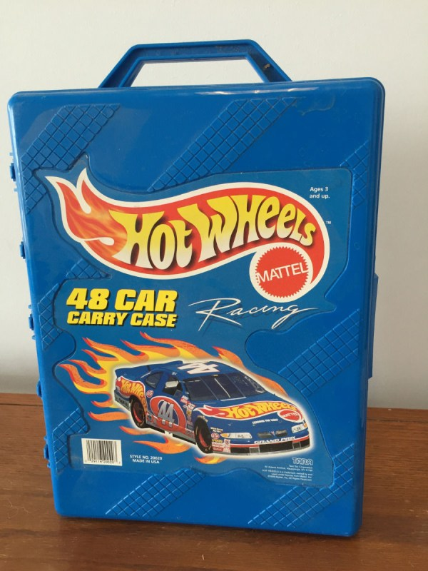 Vintage 1996 HOT WHEELS MATTEL 48 Car Carry Case Style No 20020 USA