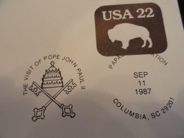 1987 The Visit Of Pope John Paul II First Day Covers For All 9 Cities 9 Covers