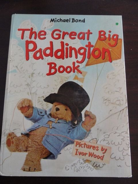 The Great Big Paddington Bear Book 1977 Michael Bond Vintage Childrens Book