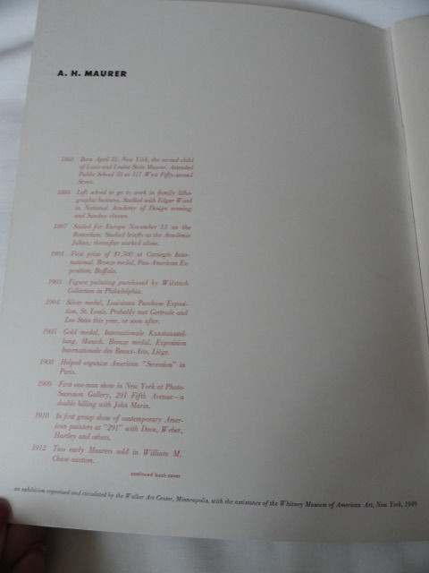 Art Book Catalog Brochure A. H. Maurer 42 Pages 1949