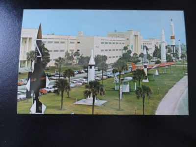 "Vtg  60's NASA Postcard #68901 AFMTC'S TECHNICAL LABORATORY Size 5.5""x3.5"""