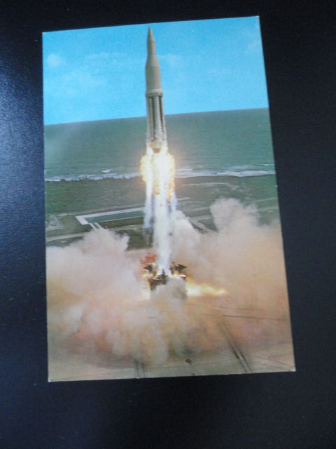 Vtg  60's NASA Postcard #60706 The National Aeronautics & Space Administration