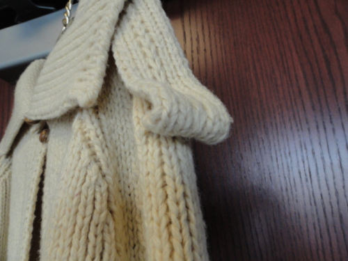 Vintage Women's French Creek Wool and Sheep Co. Full Length Sweater 100% Wool