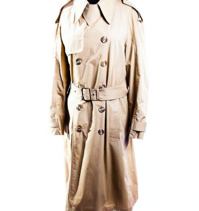 Men's VTG Saks Fifth Avenue Trench Coat Contemporay Shop Made In Yugoslavia L