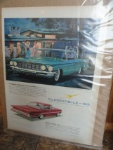 Vintage Oldsmobile For '60  1960 Super 88 Holiday Sportsedan Advertisement
