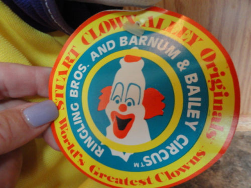 Stuart Clown Alley Originals Clown 1981 Sugar Plum Barnum & Bailey Circus