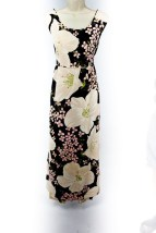 Vtg 60's  Indorables  Of California  Maxi Flower Power Pant Suit Cool & Funky