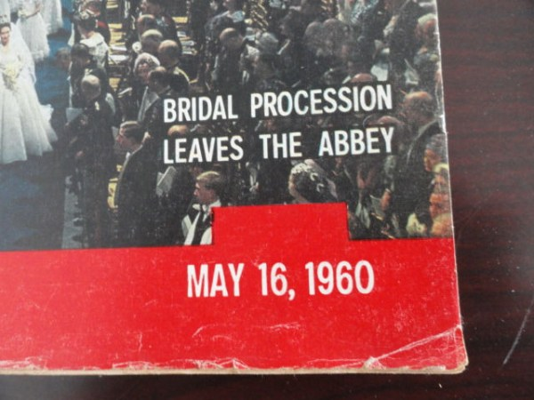 Vintage Life Magazine May 16, 1960 Bridal Procession On Cover Excellent Cond