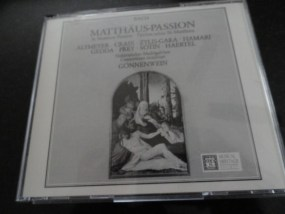 Vintage Musical Heritage Society Classical Bach Matthaus-Passion CD
