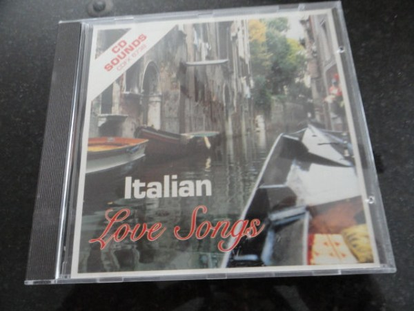 Vintage Musical Heritage Society Classical Italian Love Songs CD