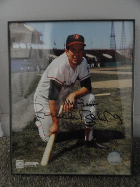 "MLB ""Brooks Robinson"" 2005 Comerica Pk  Signed 8x10 Photo Allstar Fantasy Camp"