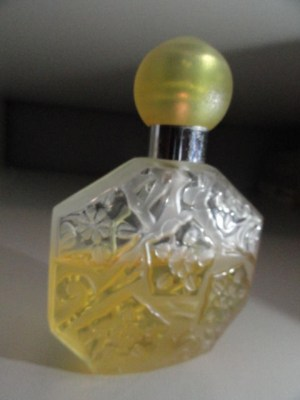 Vintage Perfume J.C. Brosseau Vintage Rare Perfume Frosted Glass Stopper