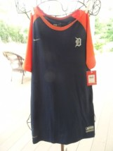 Detroit Tigers MLB Nike Team Genuine Merchandise Short Sleeve Shirt NWT XL