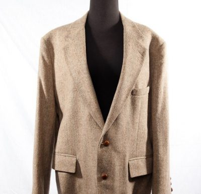 Men's The Statesman Bruce Hulme Sports Coat Jacket 100% Wool Size 44 R NWOT