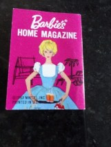 Vintage 1963 Barbie Home Magazine Mattel Inc Go Together Furniture Ex Cond