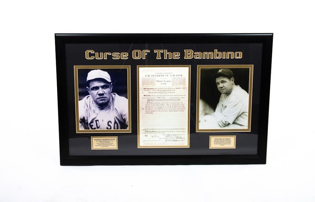 """Zet\'s Vintage Store » Vtg BABE RUTH """"Curse of the Bambino ..."""