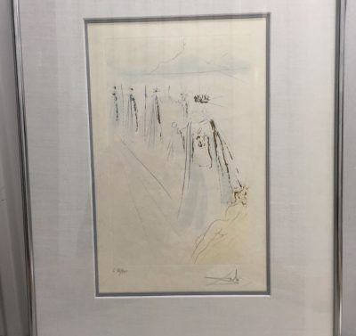 "Salvador Dali 1971 ""The King's Train"" Song of Songs of Solomon Suite COA  Ewell"