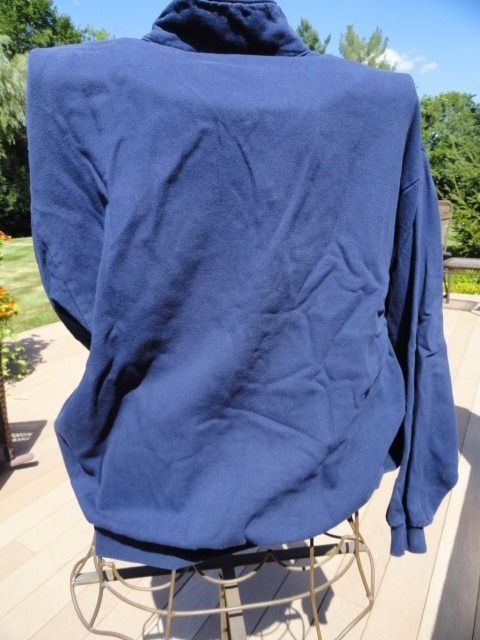 Unisex Sweatshirt Pullover The Bear Grand Traverse Resort Michigan Blue Large