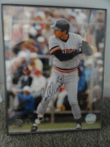 "MLB ""Darell Evans"" 2005 Comerica Pk  Signed 8x10 Photo All Star Fantasy Camp"