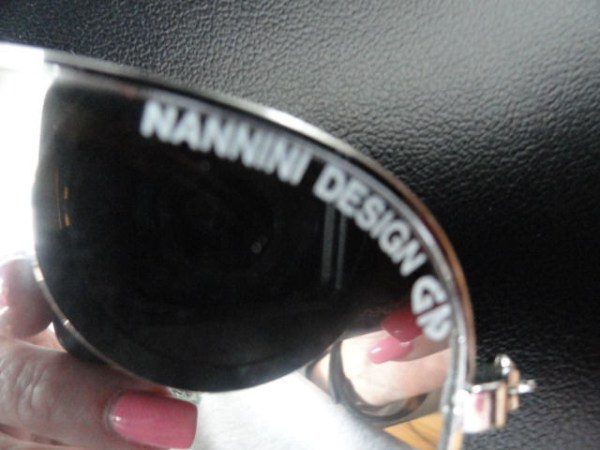Vintage Eyeglasses NANNINI DESIGN GN With Case KENCO GN Sunglasses Mirrored
