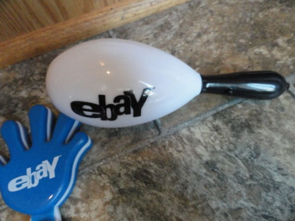 EBAY LIVE 2008 Chicago New 3 Noise Makers