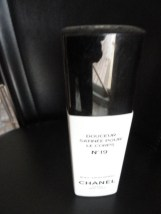 Vtg Perfume CHANEL DOUCEUR SATINEE POUR LE CORPS No 19 Tester Body Satin Spray