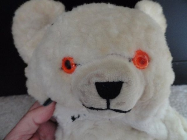 Vintage 1930's Knickerbacher Toy Co. Animals Of Distinction White 15 Teddy Bear
