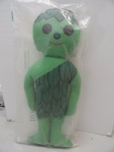 Vtg 1970's JOLLY GREEN GIANT Plush Doll New Original Bag Le Sueur Minnisota 16""