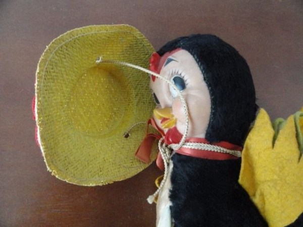 Vintage Rooster Gund J. Swedlin Inc Gund Creation GUND MFG Co Rubber Face 12""