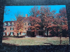 Vintage Postcard Unposted ANNA SMITH DORMITORY BEREA COLLEGE Kentucky