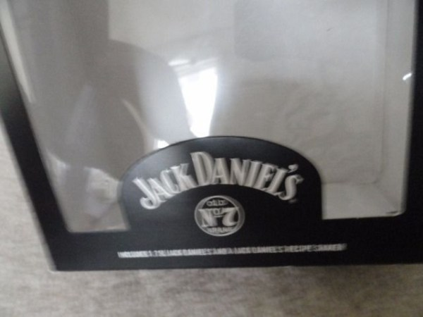 Jack Daniel's Old No 7 Brand Glass Recipe Shaker Mixer Original Box NIB Recipes