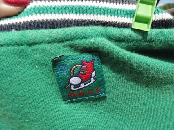 MEXX HOCKEY LEAGUE CHAMPIONS Jacket Green Blue Zip Up 100% Cotton Kids Large