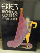 Vintage ERTE'S 1979 THEATRICAL COSTUMES IN FULL COLOR 47 Pages