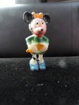 Marx Disneykins Minnie Mouse TV Tinykins Vintage 60's Mini Plastic Figurine