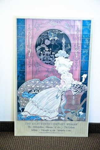 The Eighteenth Century Woman Poster The Letter George Barbier Met Museum Of Art
