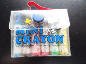 Vtg Peanuts Snoopy Mini Crayon by Butterfly Originals No No. 99 0718 Tennis