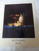 Art Book Catalog Brochure Milne Ramsey Hammer Galleries 10 Pages 1978