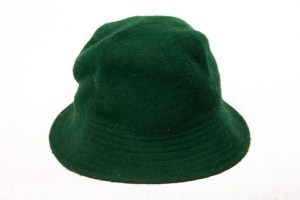 Vintage Women's Hunter Green MADCAPS Hat 100% Wool Great Condition Preowned