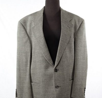 Men's Daniel Hechter 100% Worsted  Wool Sports Coat Jacket S 42 S Preowned USA