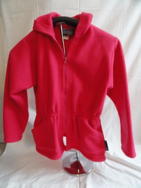 Girl's Polarfleece By Malden  Pink Zipper Jacket Hood 14-16 AVALANCHE WEAR NWOT